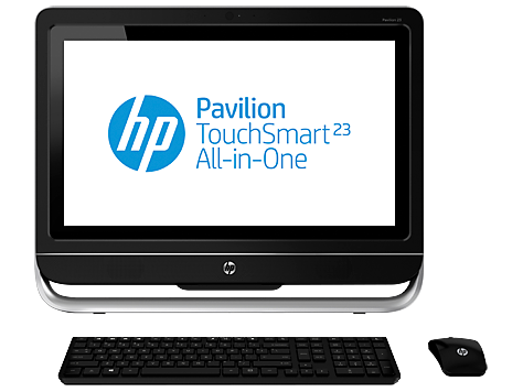 HP Pavilion TouchSmart 23-F200 All-in-One Desktop-PC-Serie