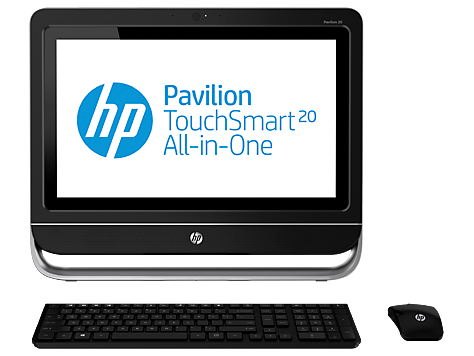 Desktop HP Pavilion TouchSmart All-in-One serie 20-f300