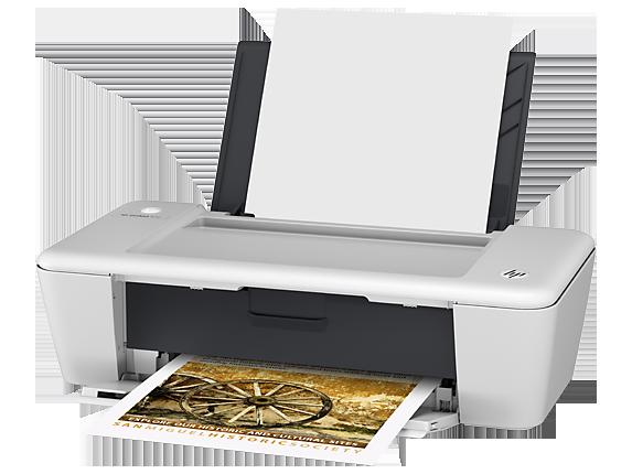 HP Deskjet 1010 Printer - Left