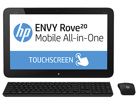 PC Desktop HP ENVY Rove 20-k100 Mobile All-in-One