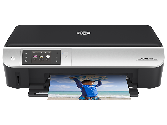 HP ENVY 5535 e-All-in-One Printer - Center