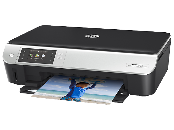 HP ENVY 5535 e-All-in-One Printer - Left