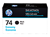 HP 74 Economy Black Original Ink Cartridge