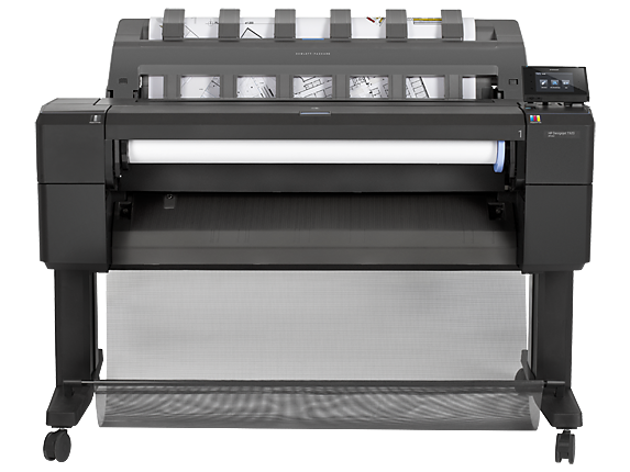 HP DesignJet T920 36-in Printer - Center
