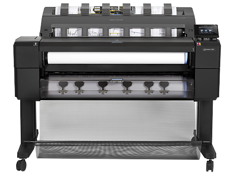 HP DesignJet T1500 Printer series
