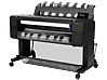 HP DesignJet T1500 36-in PostScript Printer with Encrypted Hard Disk