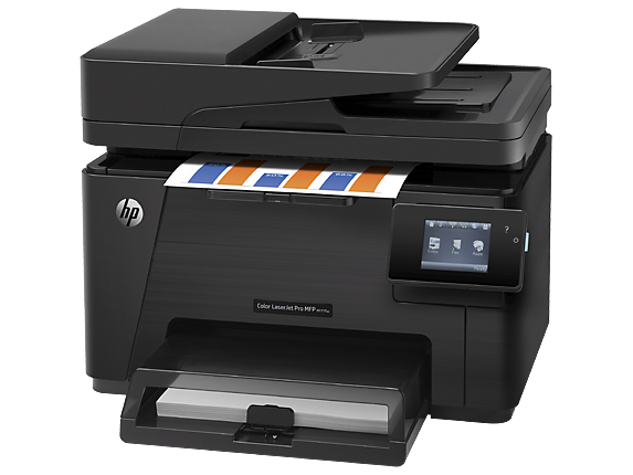 HP Color LaserJet Pro MFP M177fw - Left