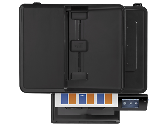 HP Color LaserJet Pro MFP M177fw - Top view closed