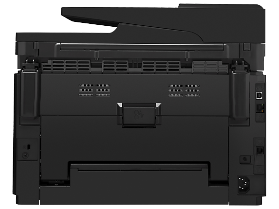 HP Color LaserJet Pro MFP M177fw - Rear