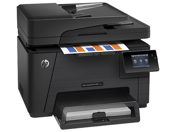 HP Color LaserJet Pro MFP M177fw - Right