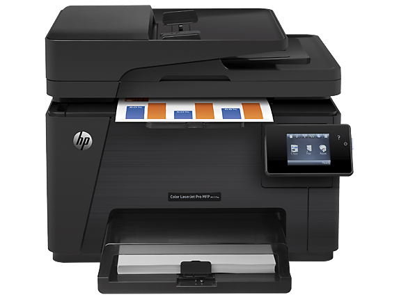 HP Color LaserJet Pro MFP M177fw - Center