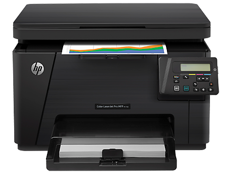 Multifuncional HP Color LaserJet Pro M176