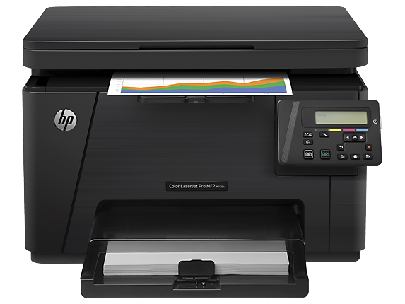 HP Color LaserJet Pro MFP M176n - Center