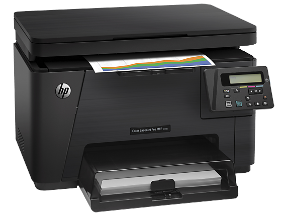 HP Color LaserJet Pro MFP M176n - Right