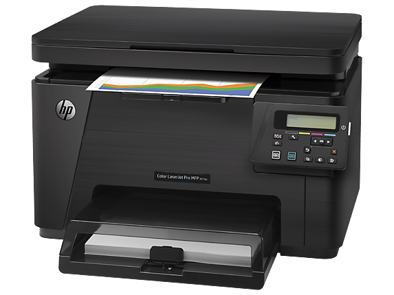 HP Color LaserJet Pro MFP M176n - Left