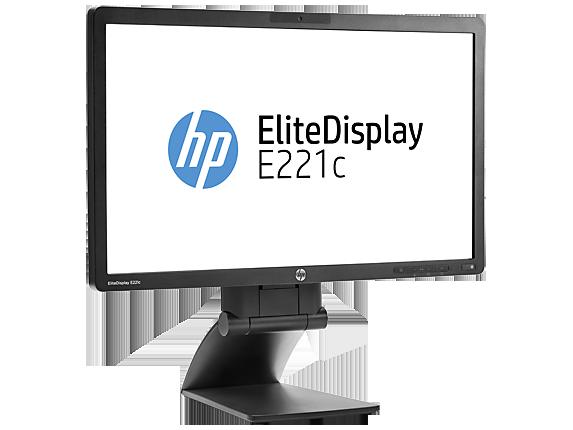 HP EliteDisplay E221c 21.5-inch Webcam LED Backlit Monitor
