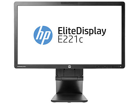 HP EliteDisplay E221c 54,6 cm (21,5 inch) Webcam LED-backlit monitor
