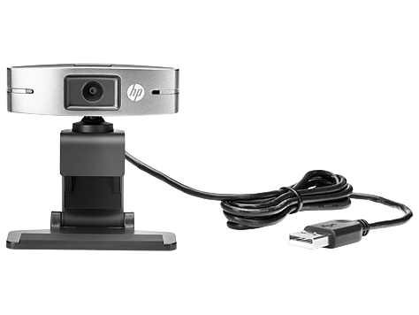 Webcam comercial HP USB HD 720p v2