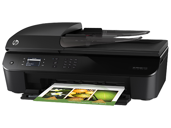 HP Officejet 4635 e-All-in-One Printer - Left