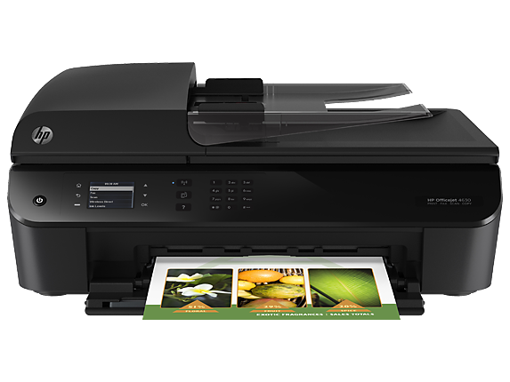 HP Officejet 4632 e-All-in-One Printer - Center