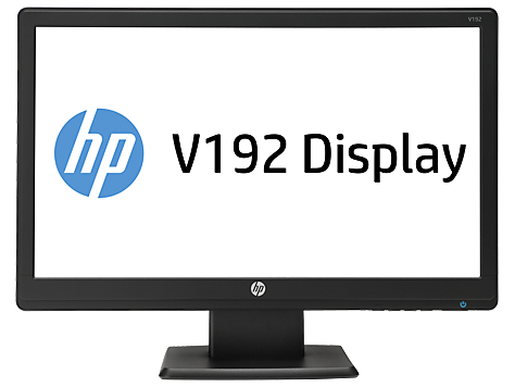 HP V192 18.5-inch LED Backlit Monitor