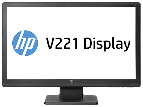 HP V221 21,5-inch LED-backlit monitor