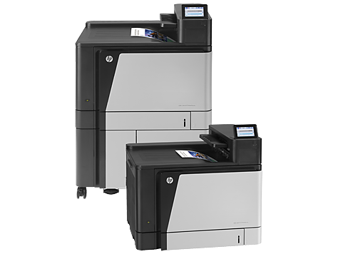 เครื่องพิมพ์ HP Color LaserJet Enterprise M855 series