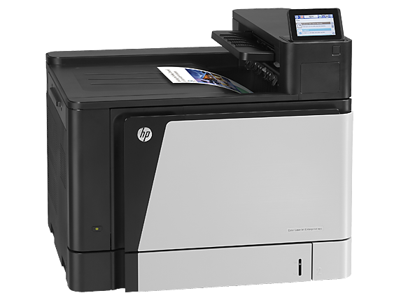 HP Color LaserJet Enterprise M855dn Printer - Right