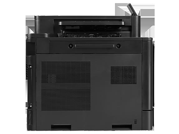 HP Color LaserJet Enterprise M855dn Printer - Rear