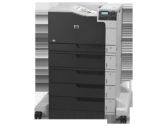 HP Color LaserJet Enterprise M750xh - Left