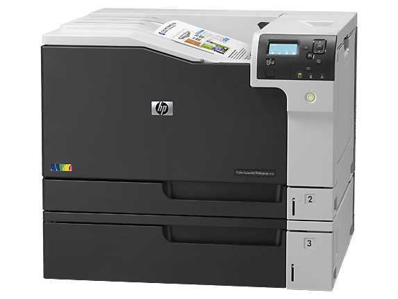 HP Color LaserJet Enterprise M750dn - Left