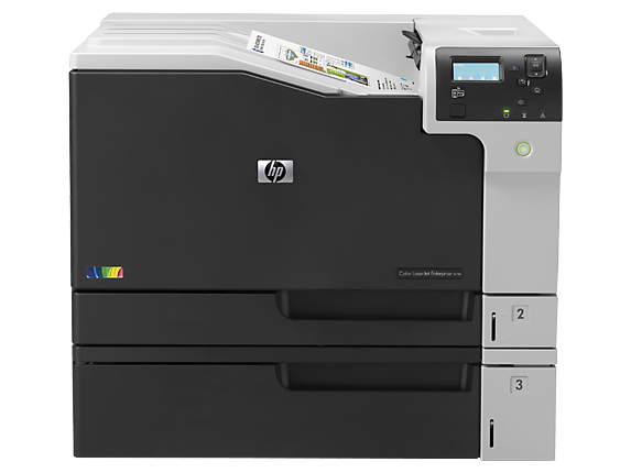 HP Color LaserJet Enterprise M750dn - Center