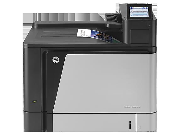 HP Color LaserJet Enterprise M855dn Printer - Center
