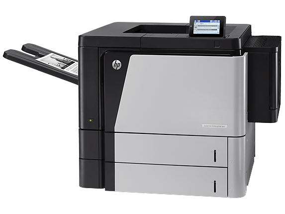 HP LaserJet Enterprise M806dn Printer - Left