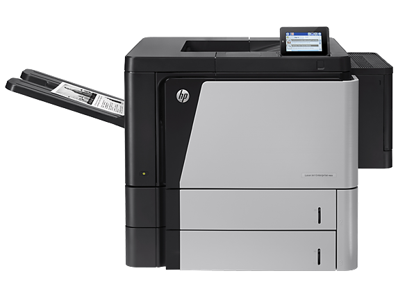 HP LaserJet Enterprise M806dn Printer - Center