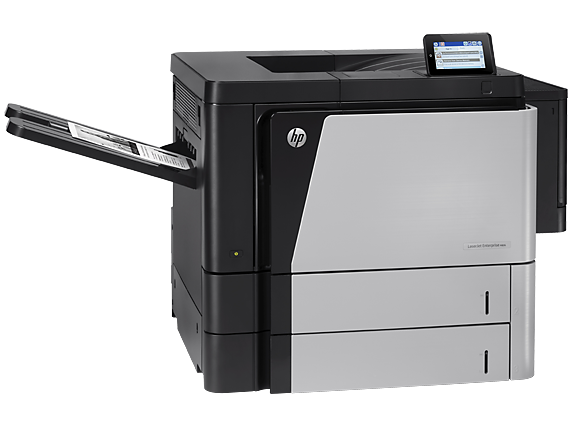 HP LaserJet Enterprise M806dn Printer - Right