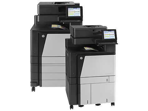 Série HP Color LaserJet Enterprise flow MFP M880