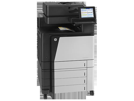 HP Color LaserJet Enterprise flow MFP M880z - Right