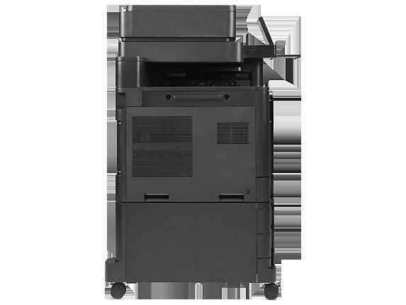 HP Color LaserJet Enterprise flow MFP M880z - Left profile closed