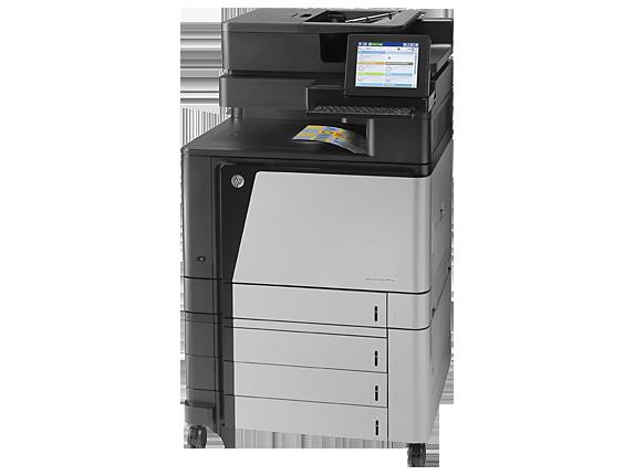 HP Color LaserJet Enterprise flow MFP M880z - Left