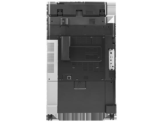 HP Color LaserJet Enterprise flow MFP M880z - Rear