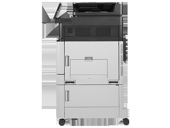 HP Color LaserJet Enterprise flow MFP M880z - Right profile closed