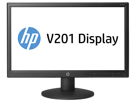 HP V201 19.45-inch LED Backlit Monitor