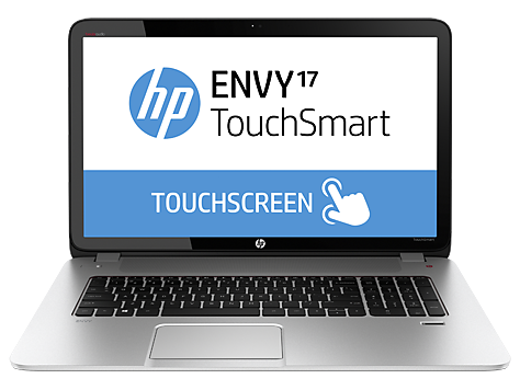 HP ENVY TouchSmart 17-j000 Quad Edition Notebook PC-serien