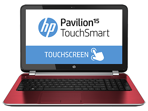 HP Pavilion TouchSmart 15-n100 notebook pc-serie