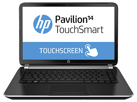 PC Notebook HP Pavilion série TouchSmart 14-n000
