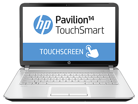HP Pavilion TouchSmart 14-n100 Notebook PC series