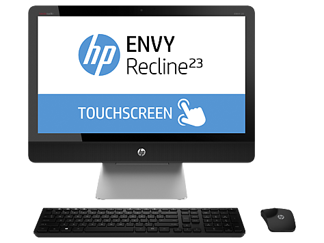 HP ENVY Recline 23-k400 TouchSmart All-in-One Masaüstü Bilgisayar serisi