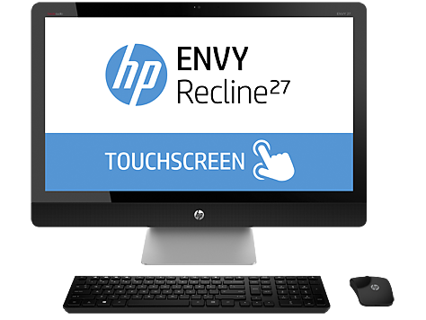 Serie de PC Desktop HP ENVY Recline 27-k100 TouchSmart All-in-One
