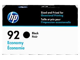 HP 92 Economy Black Original Ink Cartridge